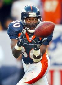 Rod Smith caught 849 passes, 174 more than any other Bronco receiver.