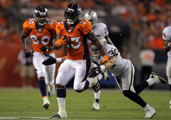 Broncos Cut Ties With Running Back Willis McGahee