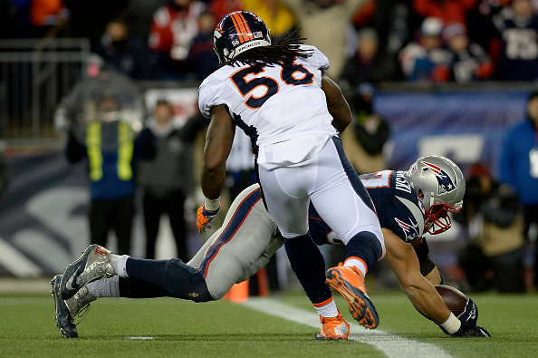 Denver Broncos vs New England Patriots, NFL