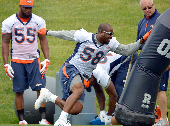 Denver Broncos mini camp at Dove Valley